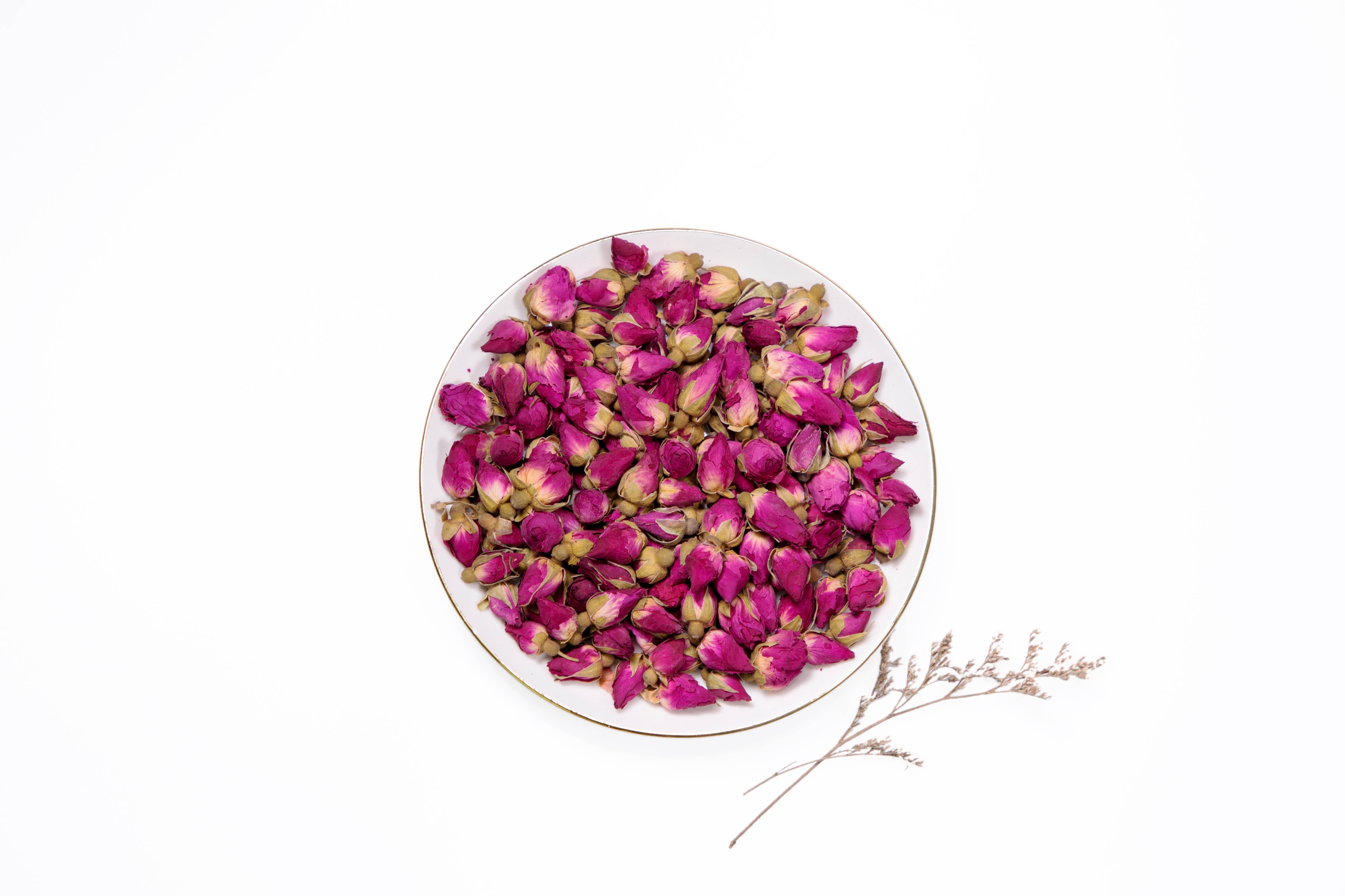 重瓣红玫瑰花蕾 FY-KL110